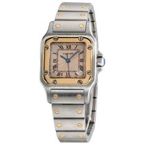 Cartier 2423 Steel Santos Galbée 24mm pre-owned United States of America, New York, Greenvale