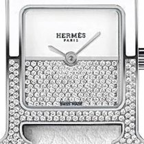 Hermès Heure H 046502WW00 New Steel 21mm Quartz