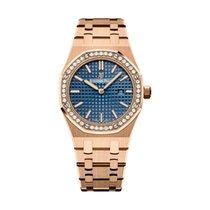 Audemars Piguet Royal Oak Lady new 2021 Quartz Watch with original box and original papers 67651OR.ZZ.1261OR.02