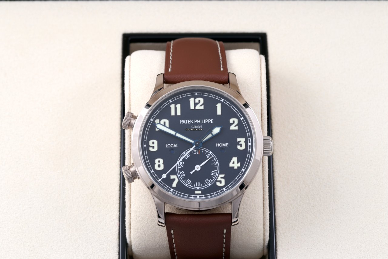 Patek Philippe Travel Time 5524G-001 2020 pre-owned