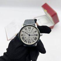 Cartier Ronde Solo de Cartier Steel 42mm Silver Roman numerals