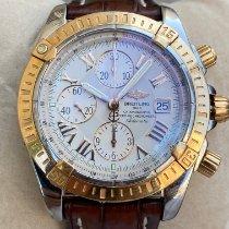 Breitling Chronomat Evolution Gold/Steel 44mm White Roman numerals United States of America, New York, BROOKLYN