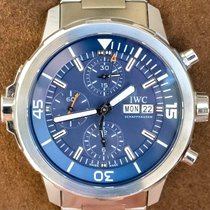IWC Aquatimer计时钢44mm蓝色无数字美利坚合众国,德克萨斯州,普莱诺