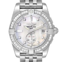 Breitling Galactic 36 Steel 36mm Mother of pearl