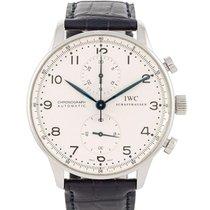 IWC Portuguese Chronograph Acciaio 41mm Bianco Arabi Italia, BRESCIA