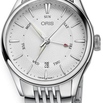 Oris Artelier Pointer Day Date Steel 40mm Silver No numerals United States of America, Florida, Naples