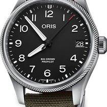 Oris Big Crown ProPilot Date Steel 41mm Black No numerals United States of America, Florida, Naples