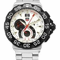 TAG Heuer Formula 1 Quartz новые 2018 Кварцевые Хронограф Часы с оригинальными документами и коробкой CAH1011.BA0860