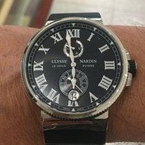Ulysse Nardin Marine Chronometer Manufacture 1183-122-3/42 V2 Yeni Çelik Otomatik