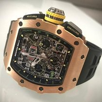 Richard Mille Rose gold 49 mmmm Automatic RM11-03 RG pre-owned