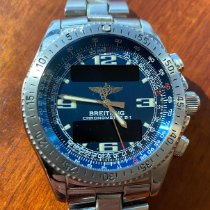 Breitling Steel 43mm Quartz A68062 pre-owned Malaysia, Penang