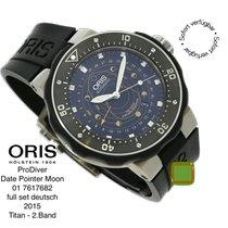 Oris ProDiver Pointer Moon Titanium 49mm Black No numerals