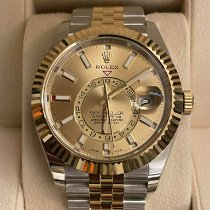 Rolex Sky-Dweller 326933 New Yellow gold 42mm Automatic