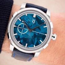 Romain Jerome gebraucht Automatik 43mm Blau Saphirglas