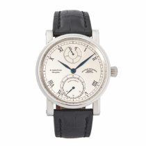 Mühle Glashütte Steel 44mm Manual winding M1-11-15-LB pre-owned United States of America, Texas, Plano