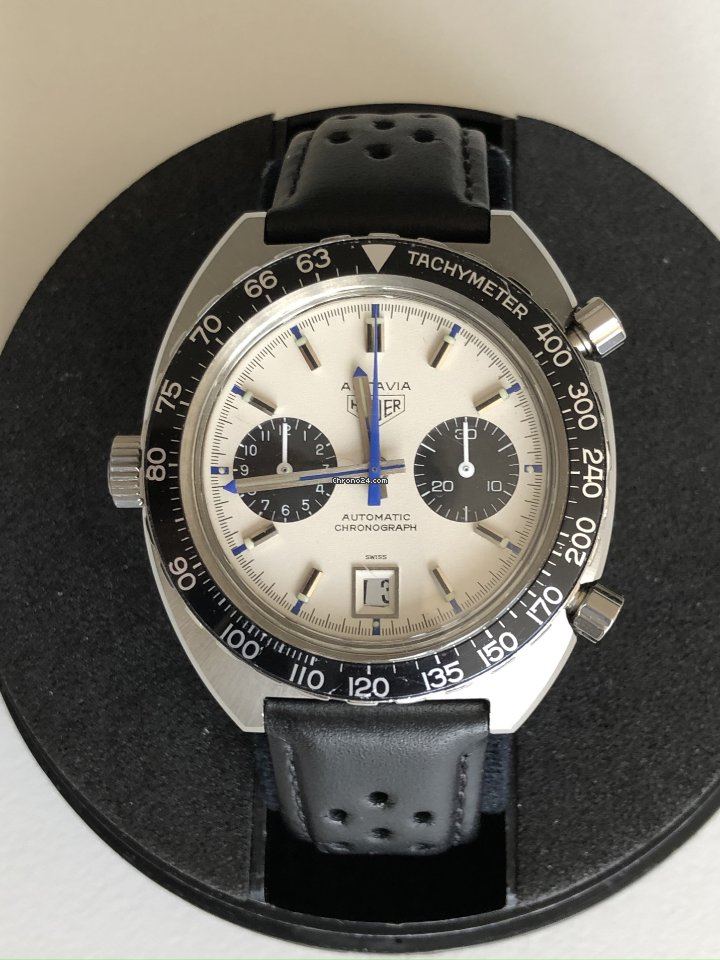 Heuer 1163 T 1972 pre-owned
