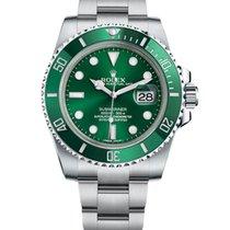 Rolex Submariner Date Steel 40mm Green No numerals India, Mumbai,