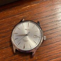 Seiko Premier Automatic Staal 40mm Zilver