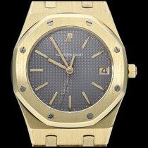 Audemars Piguet Aur galben Cuart Gri Fara cifre 36mm folosit Royal Oak