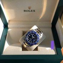 Rolex Submariner Date Or/Acier 41mm Bleu Sans chiffres France, Paris