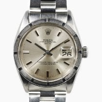 Rolex Oyster Perpetual Date Acciaio 34mm Argento