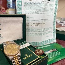 Rolex 16233 Gold/Steel 1989 Datejust 36mm pre-owned United States of America, New Jersey, Totowa
