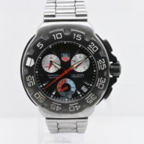 TAG Heuer CAC1110-0 Steel Formula 1 Quartz 42mm pre-owned United States of America, New York, New York
