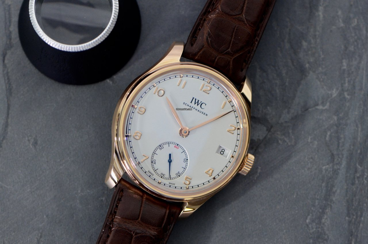 IWC Portuguese Hand-Wound IW510204 2013 new