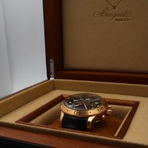 Breguet pre-owned Automatic 42mm Grey Sapphire crystal 10 ATM