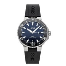 Oris Aquis Date Steel 39.5mm Blue No numerals United States of America, New Jersey, Princeton