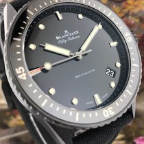 Blancpain Fifty Fathoms Bathyscaphe 5000-0130-B52A Very good Ceramic Automatic United States of America, California, Beverly Hills