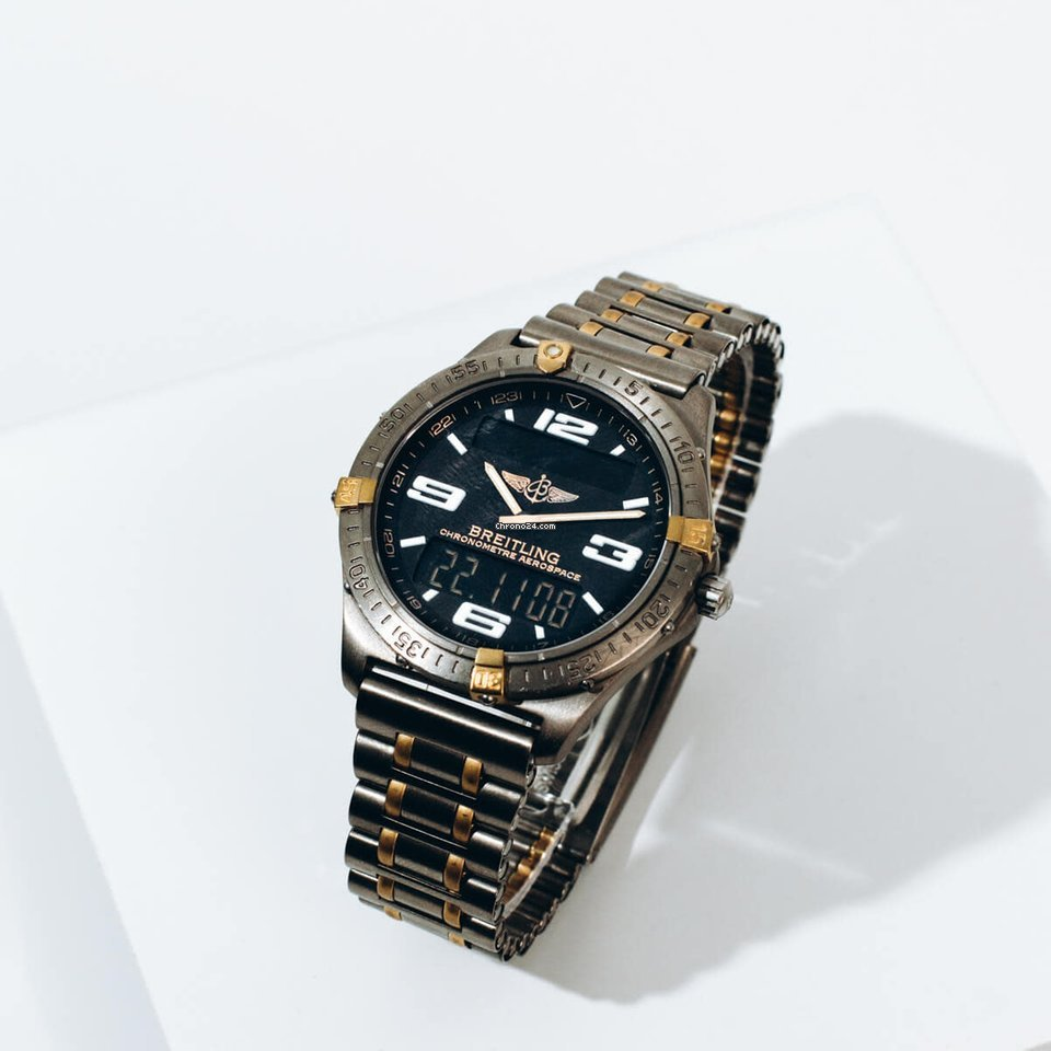 Breitling Aerospace F75362 1990 pre-owned