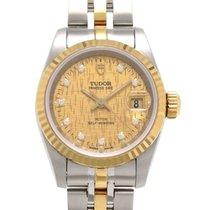 Tudor (チューダー) 女性用腕時計 25mm 自動巻き 中古 正規のボックスと正規の書類付属の時計