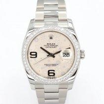 Rolex 116244 Gold/Stahl 2010 Datejust 36mm gebraucht