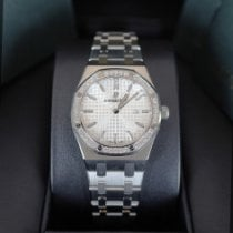 Audemars Piguet Royal Oak Lady Steel 33mm Silver No numerals United States of America, New York, NEW YORK