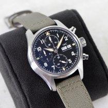 IWC Pilot Spitfire Chronograph Steel 41mm Black Arabic numerals