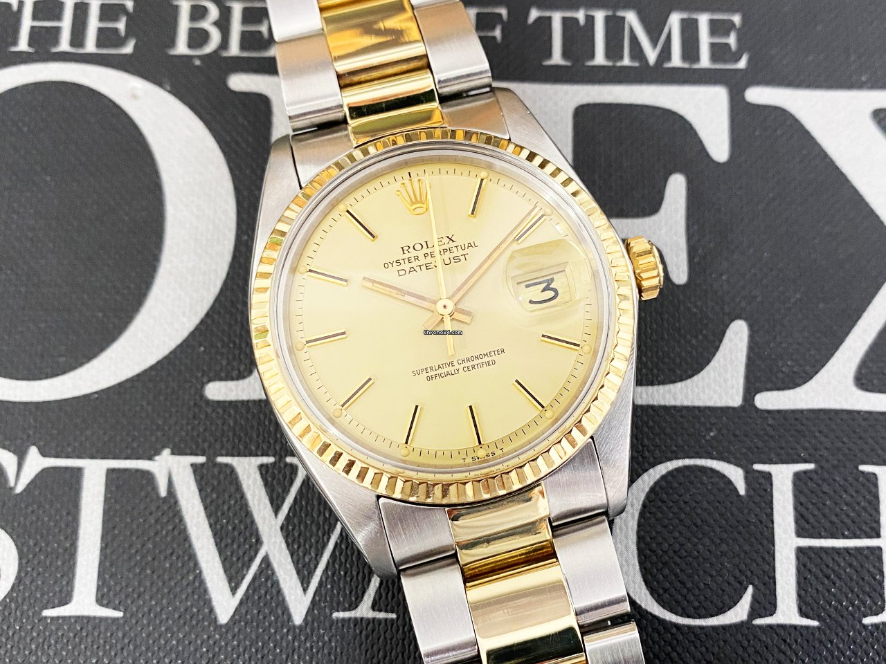 Rolex Datejust 1601 1977 pre-owned