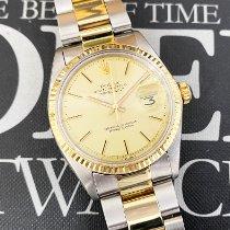 Rolex Datejust Gold/Steel 36mm Gold No numerals United States of America, California, Pasadena