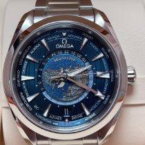 Omega Seamaster Aqua Terra Ocel 43mm Modrá Bez čísel