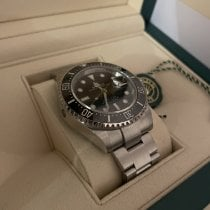 Rolex Watch pre-owned 2021 Steel 43mm No numerals Automatic Watch with original box and original papers