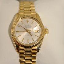 Rolex Lady-Datejust Aur galben 26mm Alb Fara cifre România, ORADEA