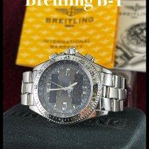 Breitling B-1 Сталь 43mm Cерый Aрабские