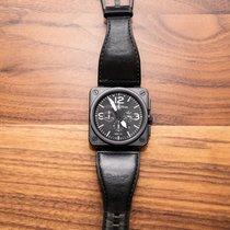 Bell & Ross BR 01-94 Chronographe Steel 44mm Black Arabic numerals United States of America, California, La Jolla