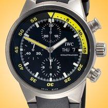 IWC Aquatimer Chronograph Steel 42mm Black