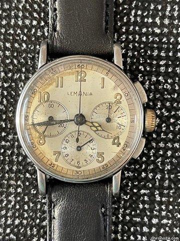Lemania Lemania Chronograph 27CH 1941 pre-owned