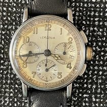 Lemania Steel 31mm Manual winding Lemania Chronograph 27CH pre-owned United States of America, California, Woodland Hills