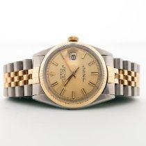 Rolex Datejust Gold/Stahl 36mm Gold Keine Ziffern Deutschland, Rostock