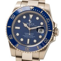 Rolex 116619-LB White gold 2013 Submariner Date 40mm pre-owned