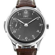 IWC Portuguese Minute Repeater White gold 43mm Grey Arabic numerals