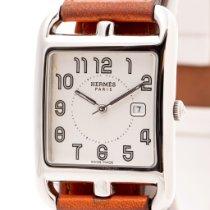 Hermès używany Kwarcowy 29mm Biały Szkiełko szafirowe